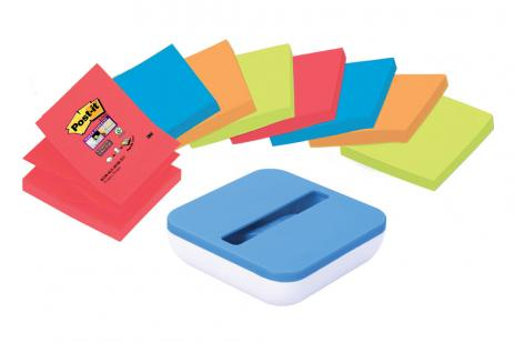 Post-it® Haftnotiz Super Sticky Z-Notes farbig-2