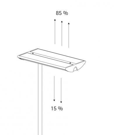 MAUL Stehleuchte MAULmaioris, Energiespar-Leuchtmittel-2