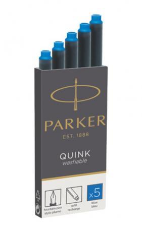 Parker Tintenpatrone Quink löschbar auswaschbar-2