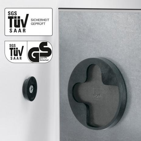 Sigel Glasboard artverum® 48 x 48 cm (BxH) super-weiß-2