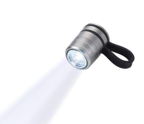 Troika Sport-Taschenlampe ECO RUN rot,schwarz-2