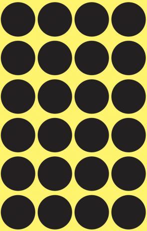 Avery Zweckform Markierungspunkt 18mm gelb-2