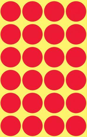 Avery Zweckform Markierungspunkt 18mm rot-2