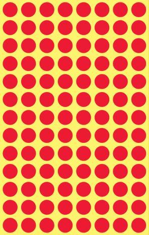 Avery Zweckform Markierungspunkt 8mm gelb-2