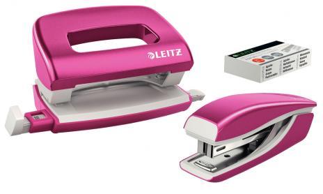 Leitz Schreibtischset NeXXt Series WOW Set mini metallic pink-2