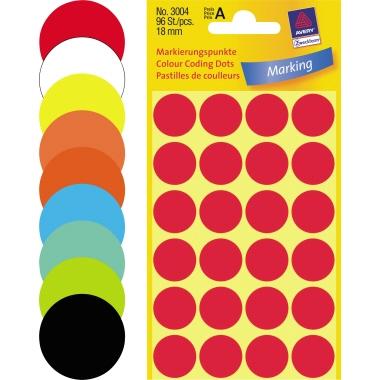 Avery Zweckform Markierungspunkt 18mm rot-3