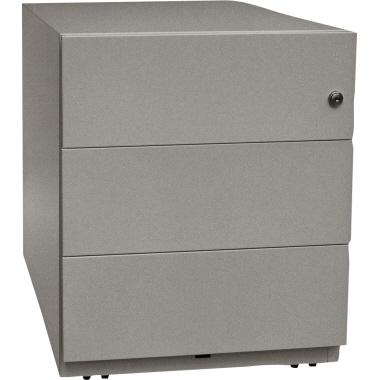Bisley Rollcontainer Note™ 3 Schubfächer 42 x 49,5 x 56,5 cm verkehrsweiß-3