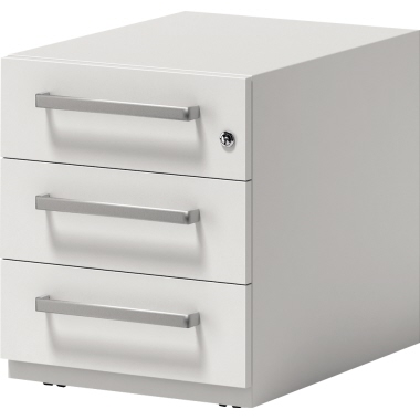 Bisley Rollcontainer Note™ 42 x 49,5 x 77,5 cm 3 Schubfächer anthrazit-3