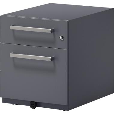 Bisley Rollcontainer Note™ 42 x 49,5 x 56,5 cm 1 Schubfach silber-3