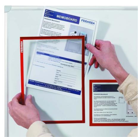 Franken Dokumentenhalter Frame It X-tra!Line DIN A4 blau-3