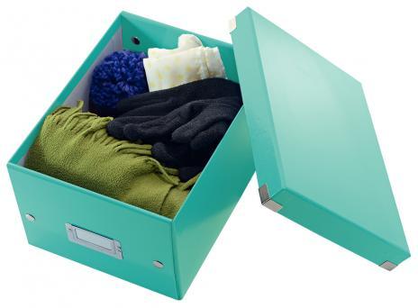 Leitz Aufbewahrungsbox Click & Store 21,6 x 16 x 28,2 cm (A5) schwarz-3