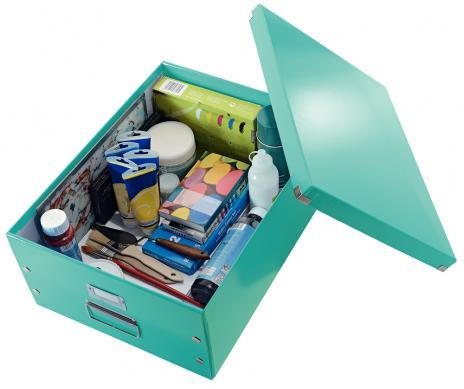 Leitz Aufbewahrungsbox Click & Store 36,9 x 20 x 48,2 (A3) pink-3