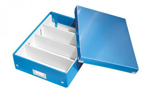 Leitz Aufbewahrungsbox Click & Store WOW 28 x 10 x 37 cm blau-3