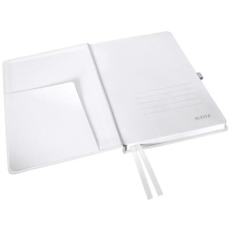 Leitz Notizbuch Style DIN A5 kariert Hardcovereinband satin schwarz-3