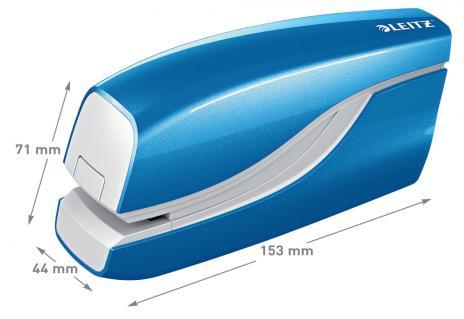 Leitz Elektroheftgerät New NeXXt WOW eisblau-3