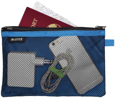 Leitz Reißverschlusstasche WOW Traveller 23 x 15 cm pink-3