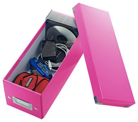 Leitz Archivbox WOW Click & Store CD blau-3