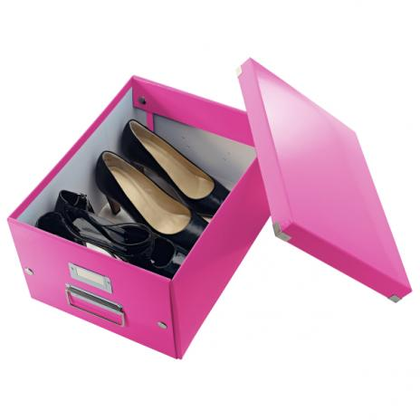 Leitz Aufbewahrungsbox Click & Store 28,1 x 20 x 36,9 cm (A4) weiß-3