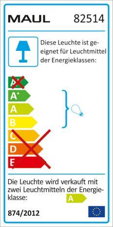 MAUL Stehleuchte MAULnaos, Energiespar-Leuchtmittel-3