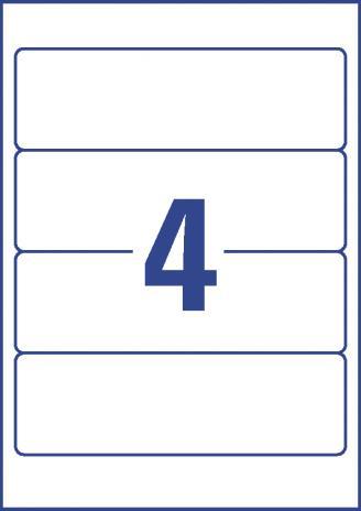Avery Zweckform Ordnerrückenetikett 61 x 192 mm, Vorteilspack + 5 Blatt gratis-3