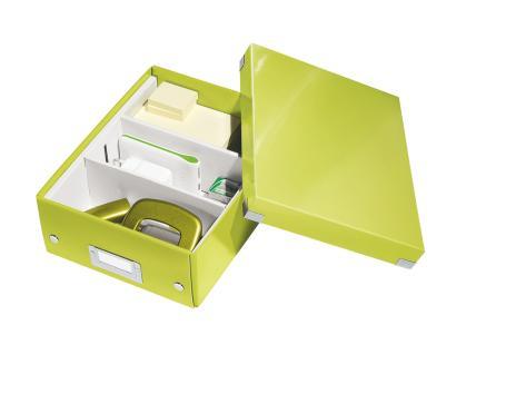Leitz Archivbox Click & Store WOW 22 x 10 x 28,2 cm schwarz-3