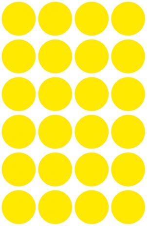 Avery Zweckform Markierungspunkt 18mm pink-4
