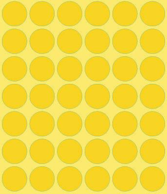 Avery Zweckform Markierungspunkt 18mm, Großpackung, gelb-4