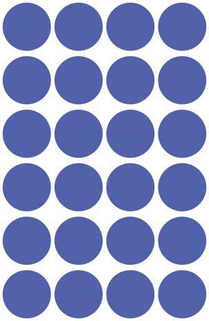 Avery Zweckform Markierungspunkt 18mm gelb-4