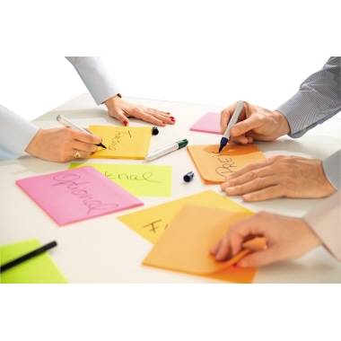 Post-it® Haftnotiz Super Sticky Meeting Notes 203 x 152 mm (B x H)-4