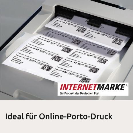 Avery Zweckform Universaletikett weiß, 800 Etik./Pack. 105 x 70 mm-4