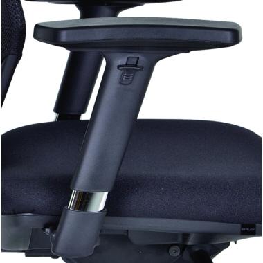 Bisley Bürodrehstuhl Optime mit Rückenlehnenhöhenverstellung-4