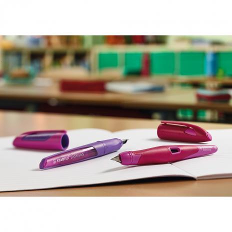 STABILO® Füller EASYbuddy Federstärke Linkshänder dunkelblau, hellblau-4