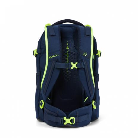 Satch PACK Schulrucksack Toxic Yellow-4