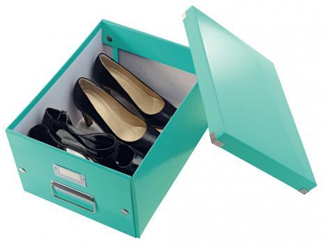 Leitz Aufbewahrungsbox Click & Store 28,1 x 20 x 36,9 cm (A4) weiß-4