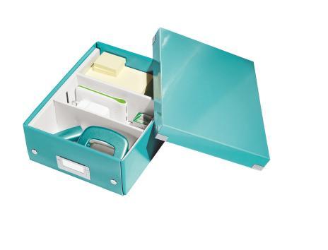 Leitz Archivbox Click & Store WOW 22 x 10 x 28,2 cm schwarz-4