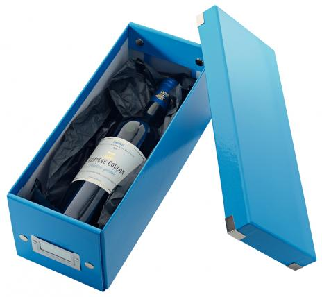 Leitz Archivbox WOW Click & Store CD blau-4