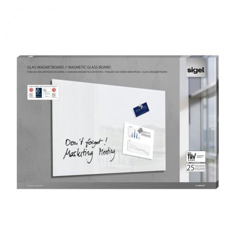Sigel Glasboard artverum® 100 x 65 cm (BxH) schwarz-4