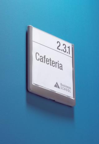 DURABLE Türschild CLICK SIGN 149 x 148,5 mm transparent-5
