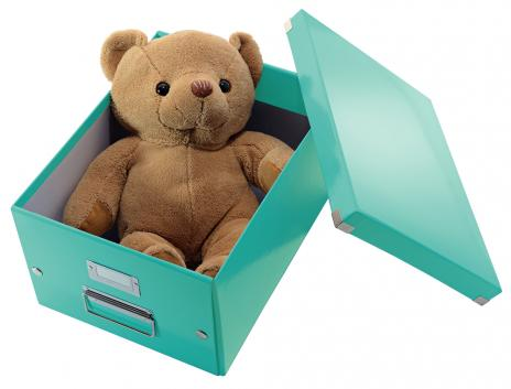 Leitz Aufbewahrungsbox Click & Store 28,1 x 20 x 36,9 cm (A4) weiß-5