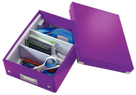 Leitz Archivbox Click & Store WOW 22 x 10 x 28,2 cm schwarz-5