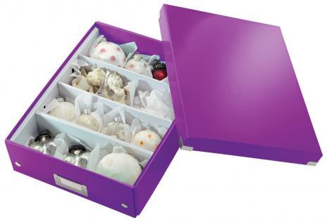 Leitz Aufbewahrungsbox Click & Store WOW 28 x 10 x 37 cm blau-5
