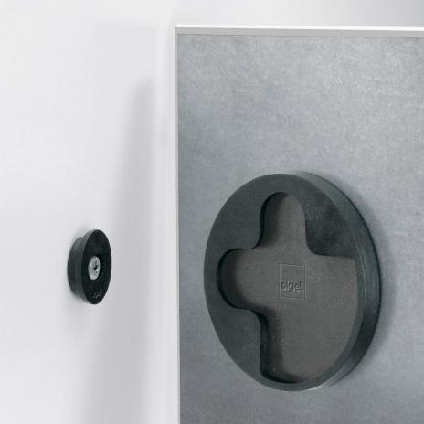 Sigel Glasboard artverum® 48 x 48 cm (BxH) super-weiß-5