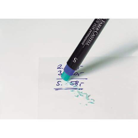 """Faber-Castell Folienstift und CD/DVD Marker MULTIMARK 1513 permanent Strichstärke """"F"""" 0,6 mm blau-6"""
