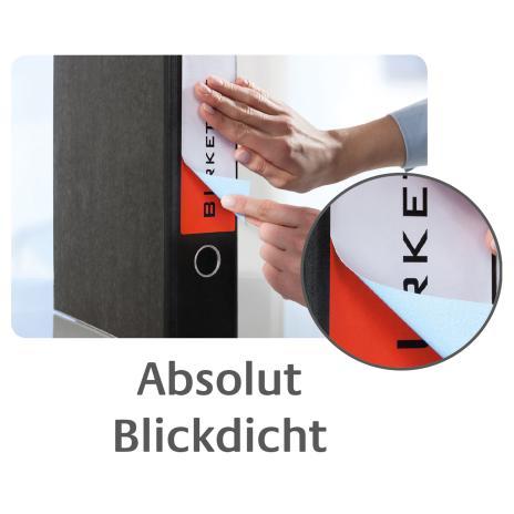 Avery Zweckform Ordnerrückenetikett 61 x 192 mm, Vorteilspack + 5 Blatt gratis-6