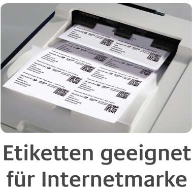 Avery Zweckform Universaletikett weiß, 800 Etik./Pack. 105 x 70 mm-6