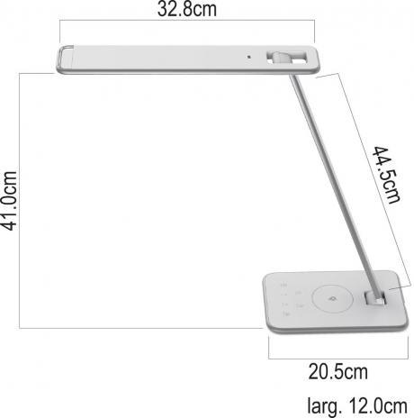 UNILUX Tischleuchte Jazz LED dimmbar-6