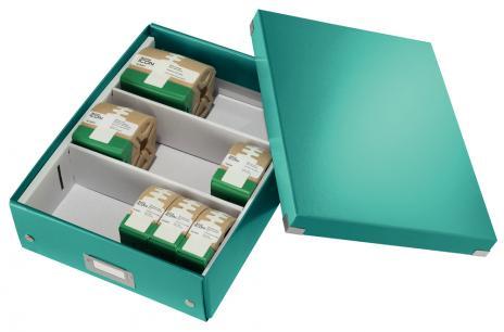 Leitz Aufbewahrungsbox Click & Store WOW 28 x 10 x 37 cm blau-6