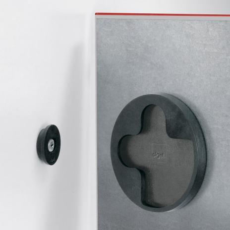 Sigel Glasboard artverum® 48 x 48 cm (BxH) super-weiß-6