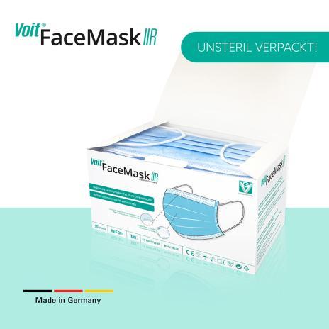 Voit OP-Masken, medizinische Gesichtsmasken Face Mask Typ IIR 50er Pack-6