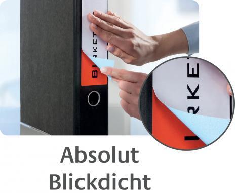 Avery Zweckform Ordnerrückenetikett 61 x 192 mm, Vorteilspack + 5 Blatt gratis-7